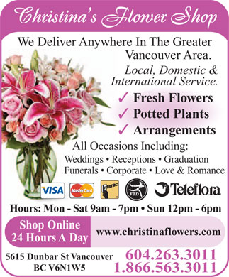 Trees-Plants-Flowers-Fruits: The Flower Shop Ads